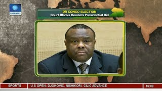 DR Congo Election: Court Blocks Bemba's Presidential Bid |Network Africa|