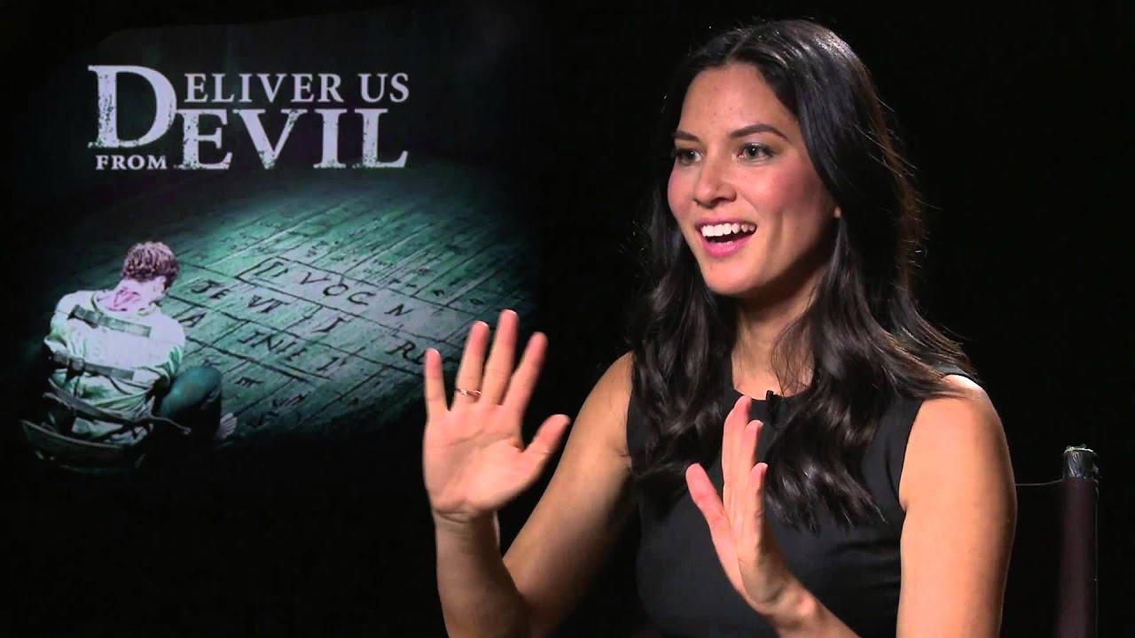 Olivia Munn - Deliver Us From Evil Cast & Filmmakers at