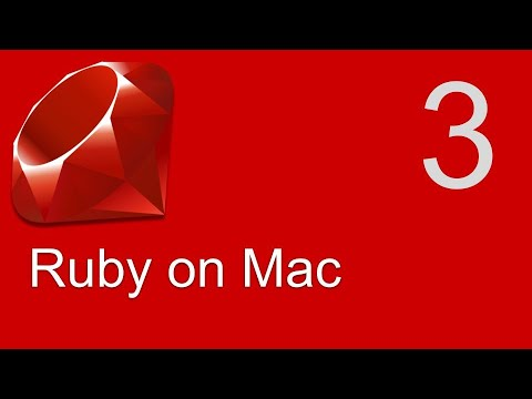 Ruby Beginner Tutorial 3   How To Install Ruby On MacOS