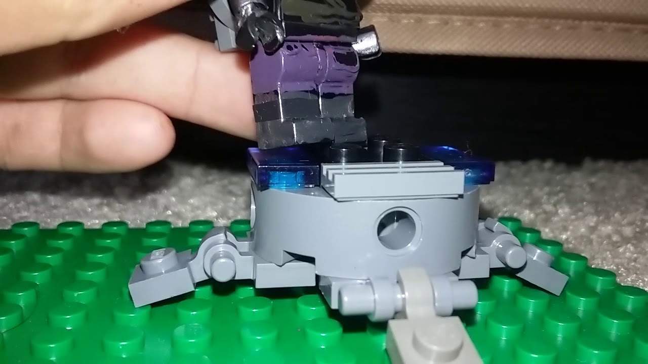 Lego Fortnite Raven Iron Cage Zapotron Lauch Pad Youtube