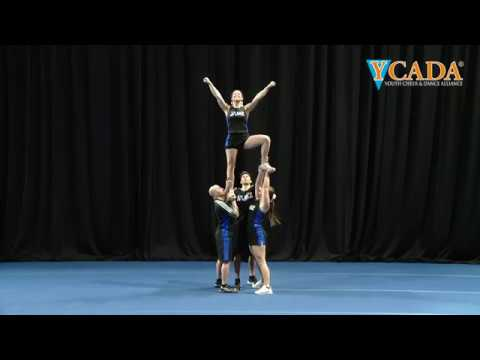 YCADA Cheer - Glossary - Extension Prep Hitch