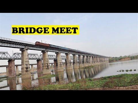 WAP4 Jaipur Chennai Narmada River Hoshangabad