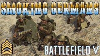 SMOKING MORE GERMANS | Battlefield V PC Live Stream (1080p 60fps)