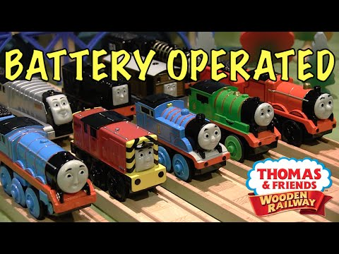 Thomas Wooden Railway Battery Operated Engines Mega Review | Thomas Wooden Railway Discussion #66