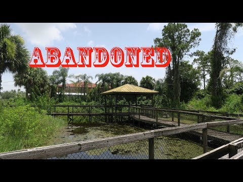 Exploring The ABANDONED JUNGLE LAND ZOO in Florida