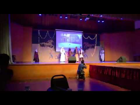 Fashion show , a day in arabia ( ucsi) part2