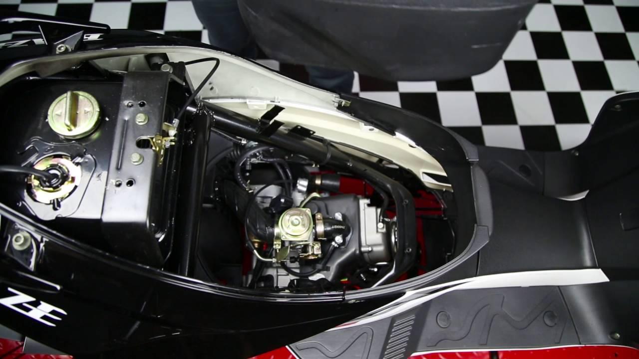 medium resolution of scooter spark plug change