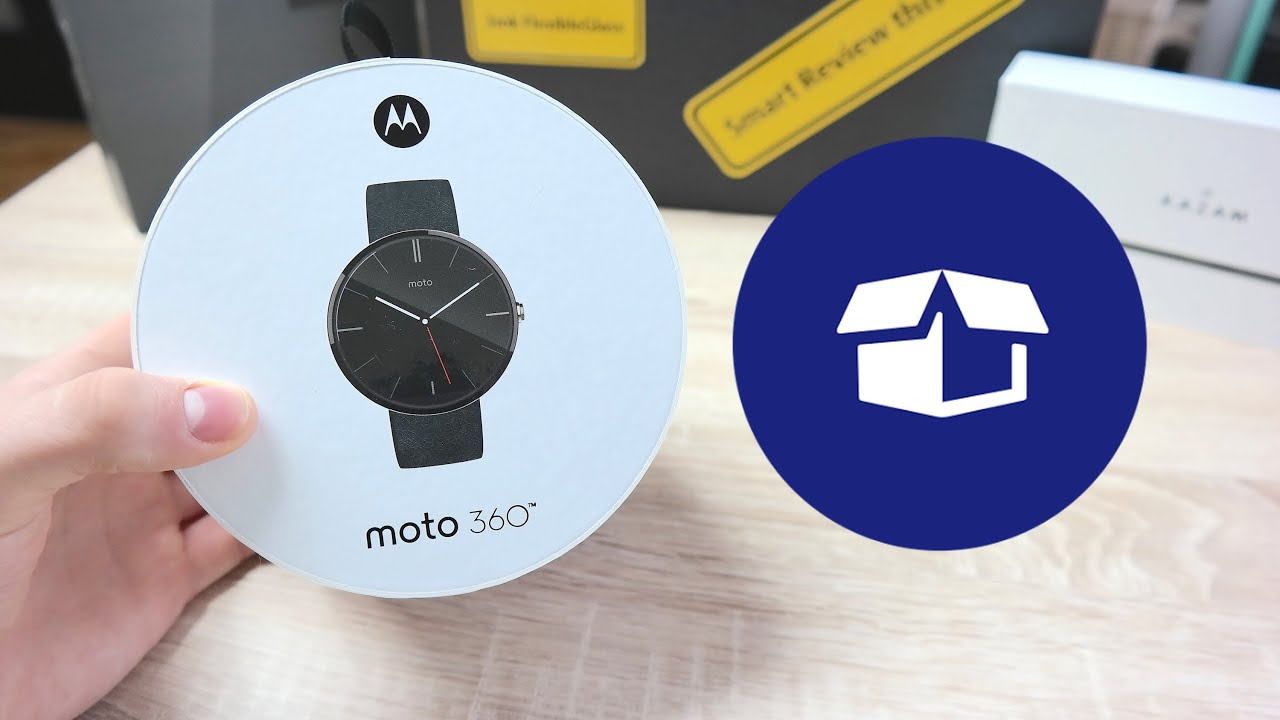 Motorola Moto 360 Rozpakowanie Unboxing PL #AndroidWear ...