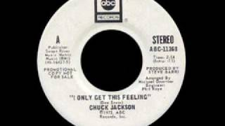 Chuck Jackson - I Only Get This Feeling