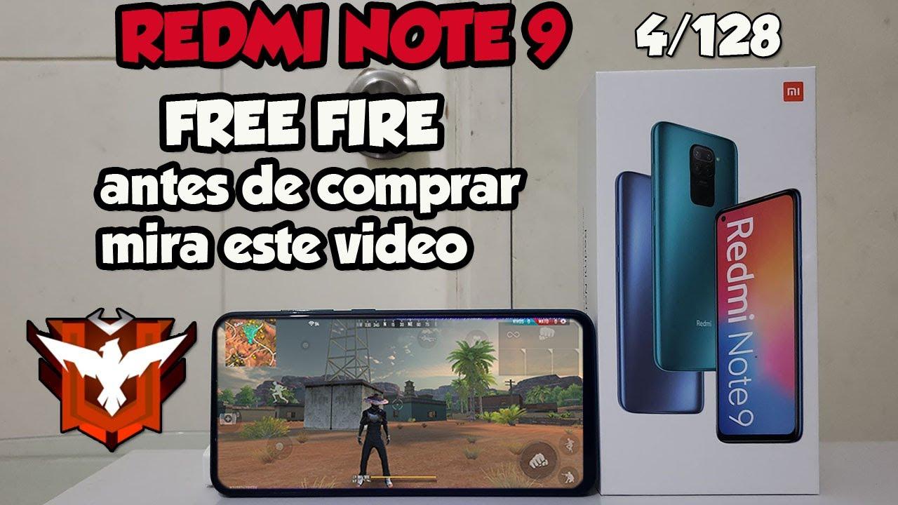 REDMI NOTE 9 EN FREE FIRE HELIO G85 CON SOMBRAS Y FPS