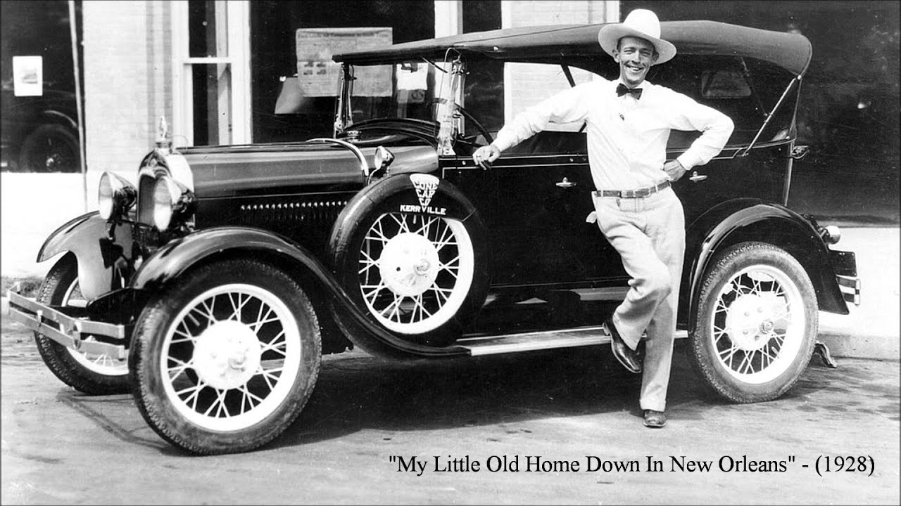 Old Time Car Wallpaper My Little Old Home Down In New Orleans By Jimmie Rodgers