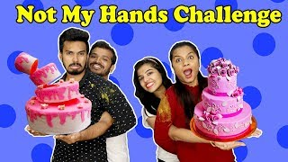 Not My Hands Food Challenge | Funny Food Competition | Hungry Biirds