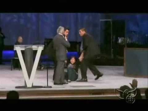Benny Hinn - Breaking Girl's Curse in Tulsa