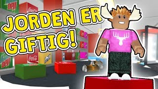 FANGET I SUPERMARKEDET! - Dansk Roblox: Escape The Grocery Store Obby