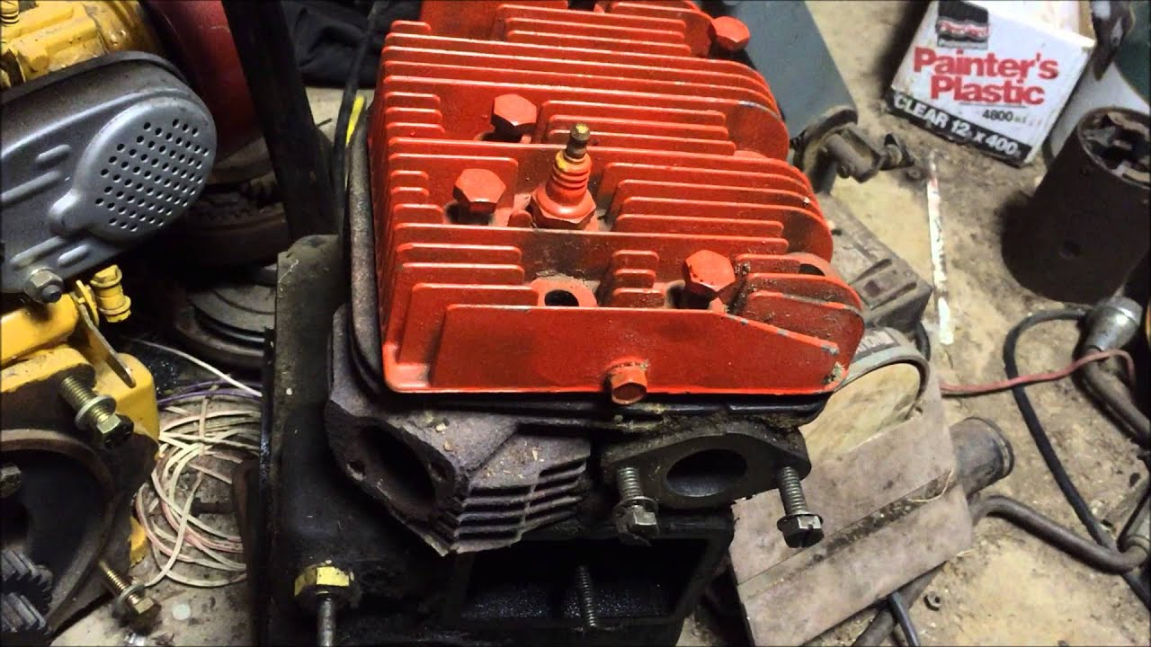 hight resolution of 14hp gravely walk behind build from parts kohler k321 part 1