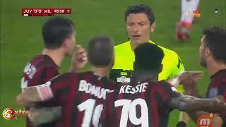 ميلان ضد يوفنتوس سقوط ميلان كأس ايطاليا