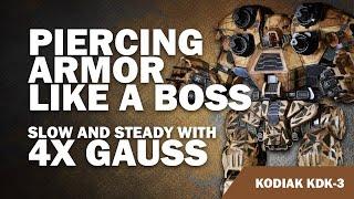 Quad Gauss Kodiak KDK-3  - Mechwarrior Online build of the week