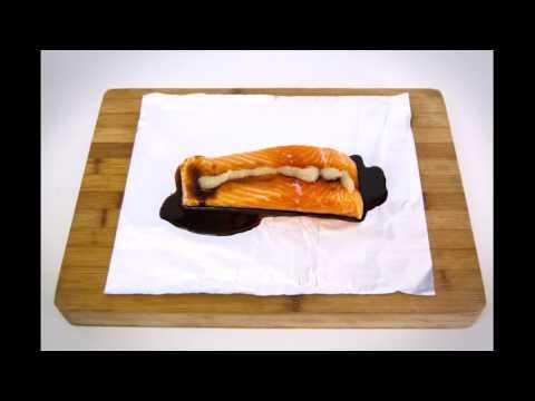 Herb Hack #3 Gingered Salmon Fillets