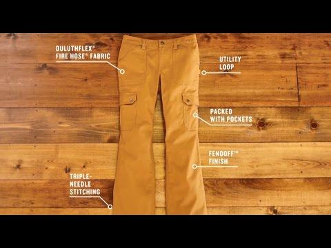 Duluth Trading Women's DuluthFlex® Fire Hose® Work Pants