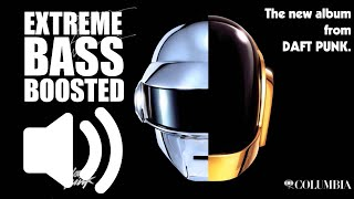 Daft Punk - Get Lucky ft. Pharrell Williams, Nile Rodgers (BASS BOOSTED EXTREME)🔊💯🔊