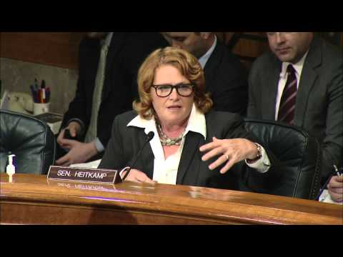 Heitkamp Discusses Federal Program and Workforce Efficiency and Effectiveness at Committee Hearing