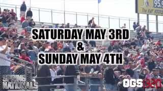 OGS1320 Spring Nationals May 3 & 4 Trailer 2014 Thumbnail