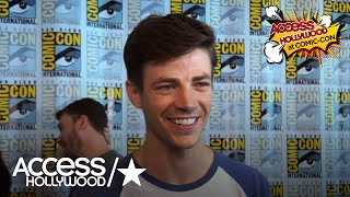 'The Flash': Grant Gustin On The Effects The Speed Force Has On Barry | Access Hollywood