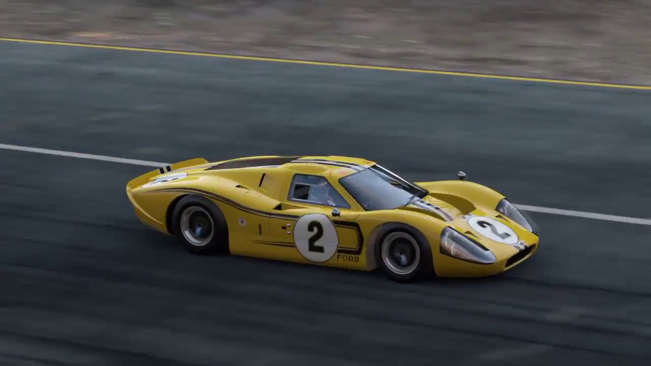 Project Cars Old School Ford Gt