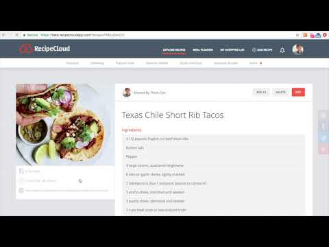 Web App Series: Shopping List Introduction