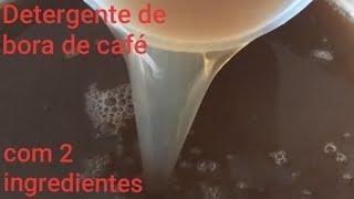 Faça detergente de borra de café com 2 ingredientes para todas as louças