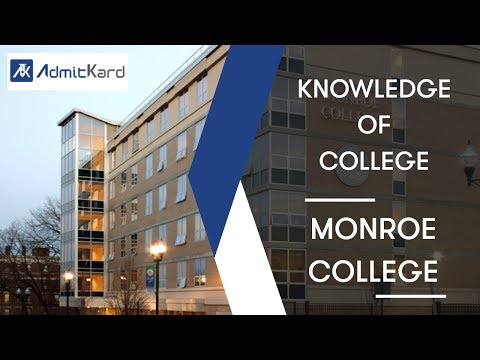 AdmitKard | Monroe College, New York