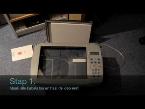 HP PSC 950 - Scant niet fix/Scan doesn't work fix.