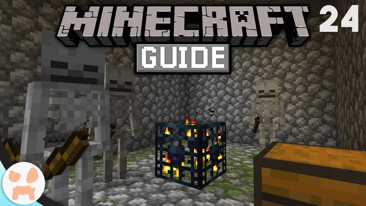 How to SKELETON FARM! | The Minecraft Guide - Minecraft 1 14