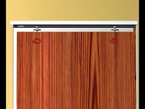 Montaje de puertas correderas Armazones de Hoja nica y