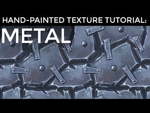 Hand-Painted Texture Tutorial: Metal