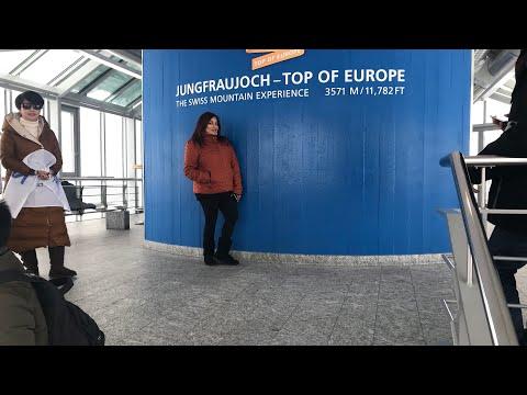 Train to Jungfrau, Switzerland