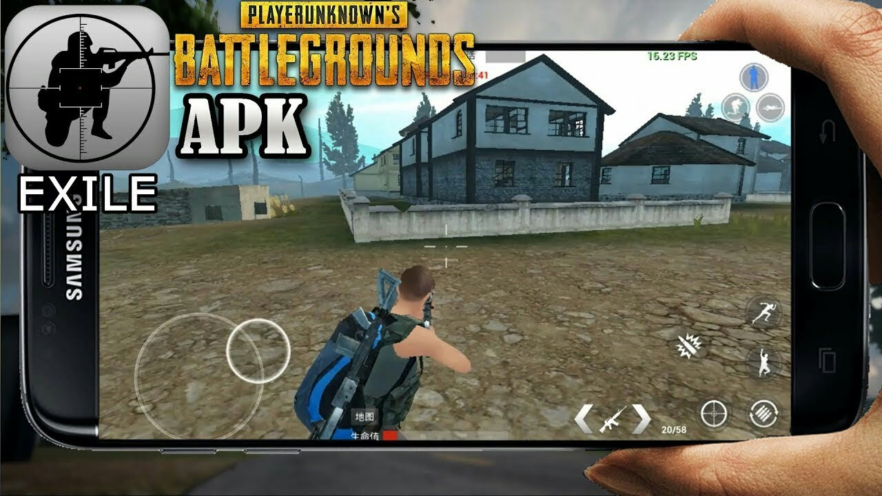 PubG On Mobile!! (EXG Exile Game) PlayersUnknownB Download