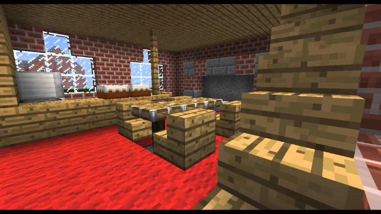 pr sentation d 39 une demeure dans minecraft maison de riche 1 youtube. Black Bedroom Furniture Sets. Home Design Ideas
