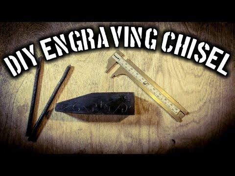 Making Engraving Chisels