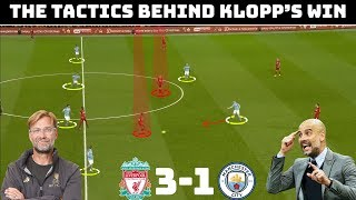 Tactical Analysis Liverpool 3-1 Manchester City | Klopp vs Guardiola | Klopp's Clinical Liverpool