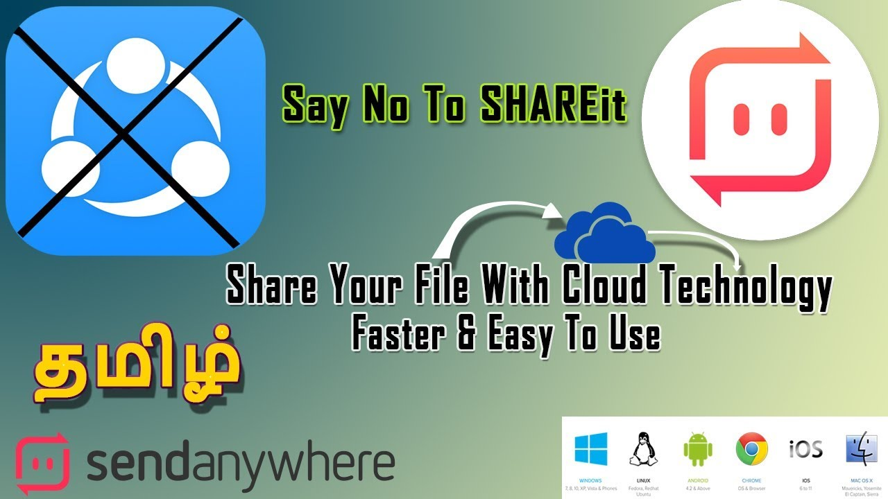 Good Bye To Shareit Now Best File Transfer Is
