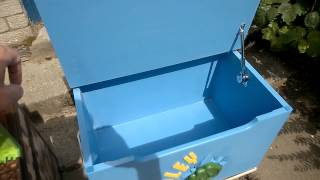Soft Close Hinge On Iron Man Box - Bespoke Woodcrafts Scotland