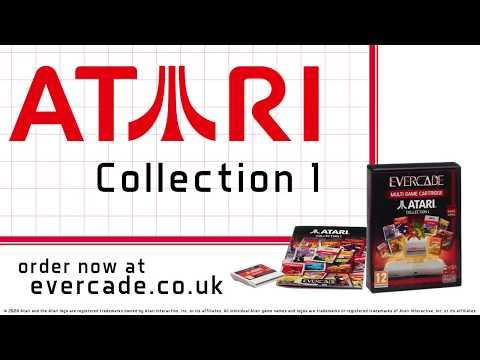 Evercade Atari Collection 1 Cartridge Trailer