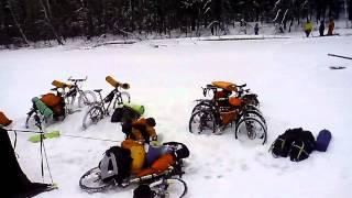 Зимний велопоход Павловка-2013(Празднование нового года и тестирование снаряжения перед зимним велопоходом на оз. Байкал., 2013-04-05T05:18:11.000Z)