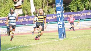 Final Try of the C Div Rugby Season 2018 - Executed by Eric Chi