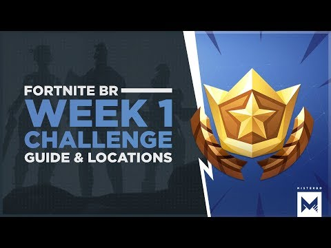 Fortnite Battle Royale: Season 4 Week 1 Challenges, Guide And Locations