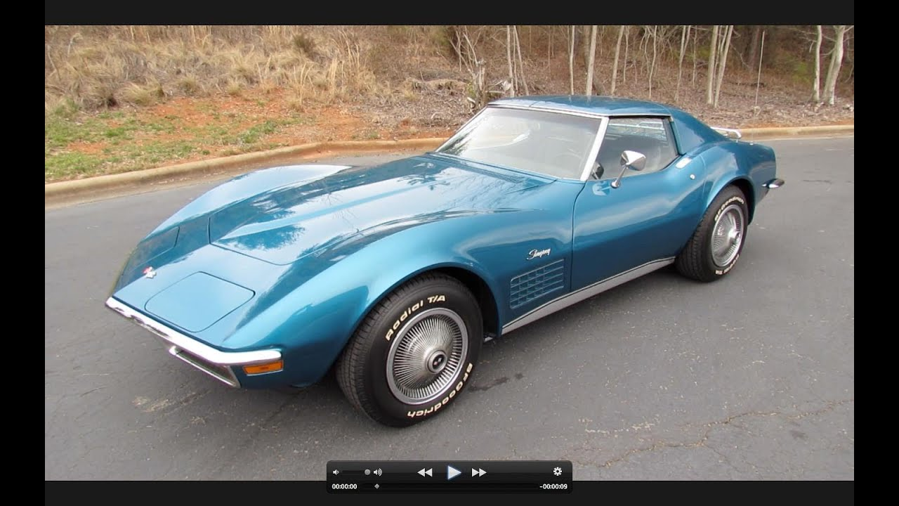 1972 Chevrolet Corvette 350 (C3) Start Up, Exhaust, and In ...