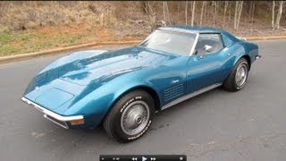 1972 Chevrolet Corvette 350 (C3) Start Up, Exhaust, and In Depth Tour