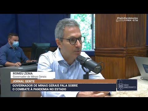 GOVERNADOR ROMEU ZEMA FALA SOBRE AS ELEIÇÕES MUNICIPAIS EM MG