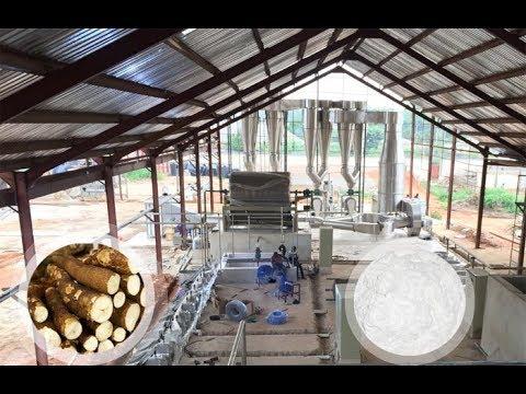 Nigeria cassava starch processing plant-DOING cassava starch production  plant project in Nigeria